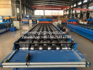 Buy cheap 2m/Min PLC Control Antique Glazed Tile Roll Forming Machine product