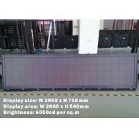 Buy cheap Outdoor Bus Led Display For Mexico Touring Company , SMD2525 bus led sign product