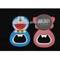 Buy cheap Doraemon Hello Kitty cartoon figure shape bottle opener custom for animation company promotional gifts product