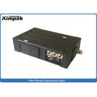 Buy cheap Military Level COFDM Video Transmitter 20W Long Range Audio Video Transmission System with Encryption from wholesalers