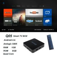 Buy cheap QINTAIX Hot Amlogic S805 TV Box with Quad Core smart TV box Support H.265 Q05 ITPV channels product
