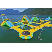 Buy cheap Floating Playground Inflatable Water Parks / Inflatable Water Toys product