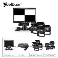 Buy cheap 4CH HDD MDVR Mobile DVR System With 4G GPS AHD Backup Bus Trucks Camera product