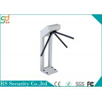 Buy cheap Waist Height Automatic Tripod Turnstile Gate Security Card Or Biometric product