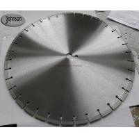 Buy cheap 500mm diamond concrete saw blade for fast cutting reinforced concrete with long from wholesalers