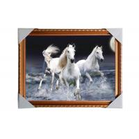 Buy cheap 3D Art Custom Lenticular Printing Pictures Offset Print PS Frame For Home Decorative product