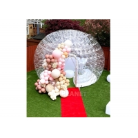 Buy cheap 4m Transparent Inflatable Tent Camping Blow Up Tent Outdoor Events Waterproof Inflatable Bubble Dome Tent product