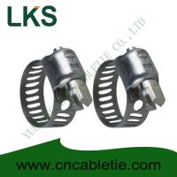 Buy cheap Small American Type Hose Clamps product