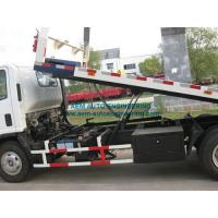 Buy cheap Road Flatbed Wrecker Tow Truck Recovery Vehicle product