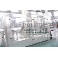 Buy cheap Automatic Mineral Water Juice Gas Bevarage Filling And Sealing Machine from wholesalers