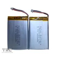 Buy cheap Lithium Polymer Battery Pack   LP403759 3.7v 900mah for Table PC product