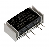 Buy cheap SSR12AA 15-28VDC To 40-480VAC AC SSR Relay Module product