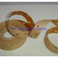 China Perforated Gummed paper tape (water activated kraft sealing tape) with vegetable glue on sale