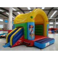 Buy cheap Colorful Inflatable Toy Inflatable Mini Combo Jumper With Inflatabe  Slide product