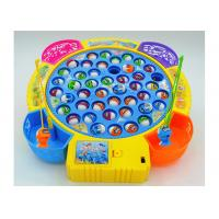 Buy cheap Funny Plastic Children's Play Toys Fishing Game Battery Operated With Music product