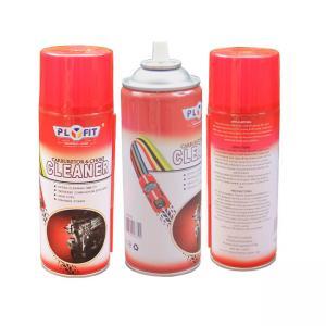 Buy cheap Oem Logo ISO9001 Tinplate 400ml Aerosol Carburetor Cleaner product