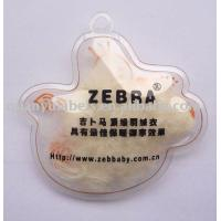 Buy cheap transparent hang tag with black color printing product