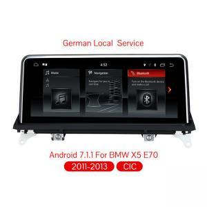 Buy cheap Android 7.1 quad core car dvd player For BMW X5 E70/X6 E71 (2011-2013) Original CIC System 2G RAM+32G ROM car radio product