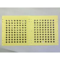 Buy cheap Single key single layer design metal dome sheet product