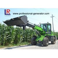 Buy cheap 1 Ton Load Telescopic Boom Mini Wheel Loader With 37kW Yunnei Engine from wholesalers