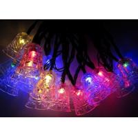 Buy cheap Jingle Bell 4.8m Solar Powered Decorative String Lights With 20 Bulbs product