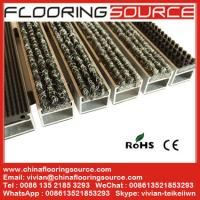 China Aluminum Recessed Entrance Mat reduce dirt decorate entrance both indoor and outdoor on sale