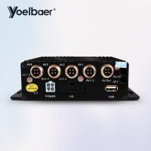 Buy cheap Truck Hybrid SD Mobile DVR Vehicle Car CCTV DVR 4CH Sd Card Video Recorder product