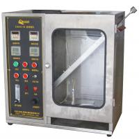 Buy cheap Textile Burning Behavior Testing Equipment / 45 Degrees Damaged Area and Ignition Times Test Machine product