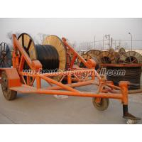 China  cable reel trailer   cable drum table  for sale
