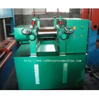 Buy cheap Durable PLC Control Automatic Rubber Mixing Mill , EVA / PVC Pellet Mill product