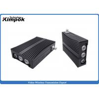 Buy cheap NLOS COFDM IP Mesh 100~1000MHz Mobile Wireless Video Communication Transceiver product