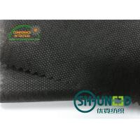 China Black Non Woven Polypropylene Fabric Nonwoven Technic For Bag / Garment on sale