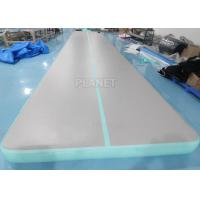 Buy cheap 33ft Cheerleading Inflatable Tumbling Air Mats For Gymnastics product
