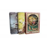 Buy cheap Stationery Diary A4 Size Notebooks 3D Lenticular Cover Of Famous Views product