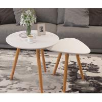 Buy cheap Cafe Furniture Solid Wood Modern Center Table Japanese Style Assembly Minimalist product
