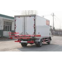 Buy cheap Sinotruk Howo7 10T Light Duty Commercial Refrigerator Freezer Truck 4x2 for Meat from wholesalers