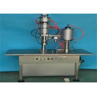 Buy cheap Industrial Bag On Valve Aerosol Filling Machine 1200-1500 Cans / Hour PLC Controlled product