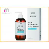 China ODM Pure Hyaluronic Acid Serum Anti Aging And Wrinkle Formula Plump Hydrate And  Moisturize Skin on sale