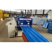 Buy cheap 24 Roller Station Steel Roofing Profile Roll Forming Machine with Chain Drive product
