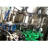Buy cheap 4.23KW Small Glass Bottle Filling Machine Germany Purified Mineral Pure Water from wholesalers