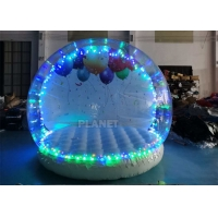 Buy cheap 3 Meter Dia Inflatable Snow Globe Photo Booth With Blowing product
