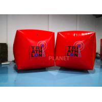 Buy cheap 1.5M Cube Race Marker Inflatable Water Buoys For Water Sports Event product