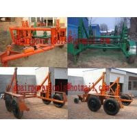 China  cable drum carriage/reel carrier/cable Reel Trailers  for sale