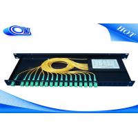 Buy cheap Indoor Waterproof 1 X 32 Inserting Optical PLC Splitter Total Enclosed Structure product