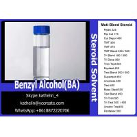China Pharma Grade Solvent Benzyl Alcohol(BA)For Steroid Liquid Homebraw on sale