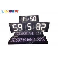 Buy cheap Polo Sport Electronic LED Scoreboard in white color with Electronic Led Team Name product