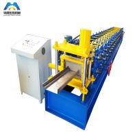 Buy cheap High Precise Roll Forming Machinery Shutter Door Frame 17 Rows 45# rollers product
