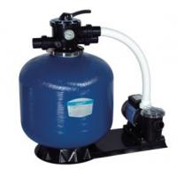 Buy cheap Swimming Pool Top Mount Plastic Body + Fiberglass Outer Sand Filters + Pump Set product