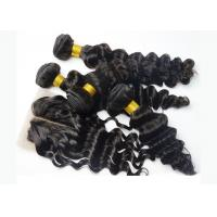 Buy cheap Natural Color Full Lace Frontal Closure 13x4 , Lace Frontal Closure With Baby Hair product