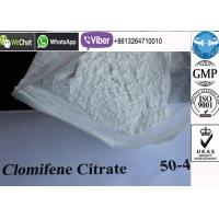 Buy cheap Anti Aging Muscle Gain Steroids White Crystalline Clomiphine Citrate Powder product